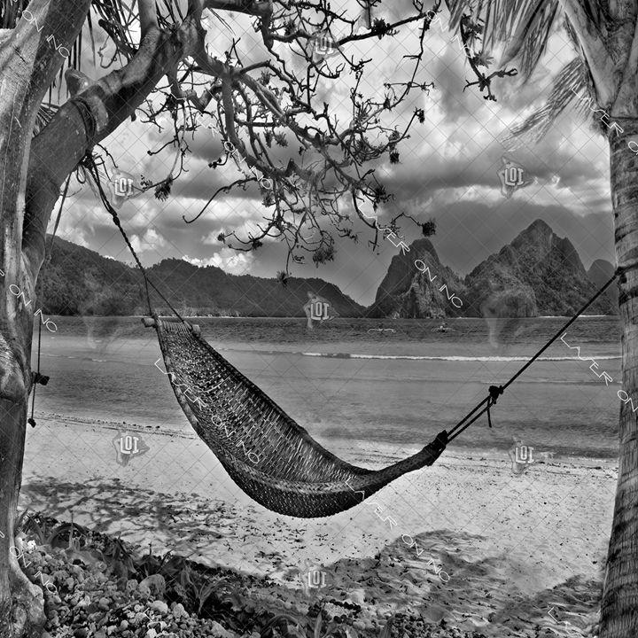 beach-hammock-12in - Laser On Inc