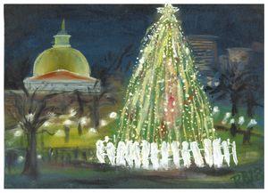 Christmas on the Common, Boston, MA
