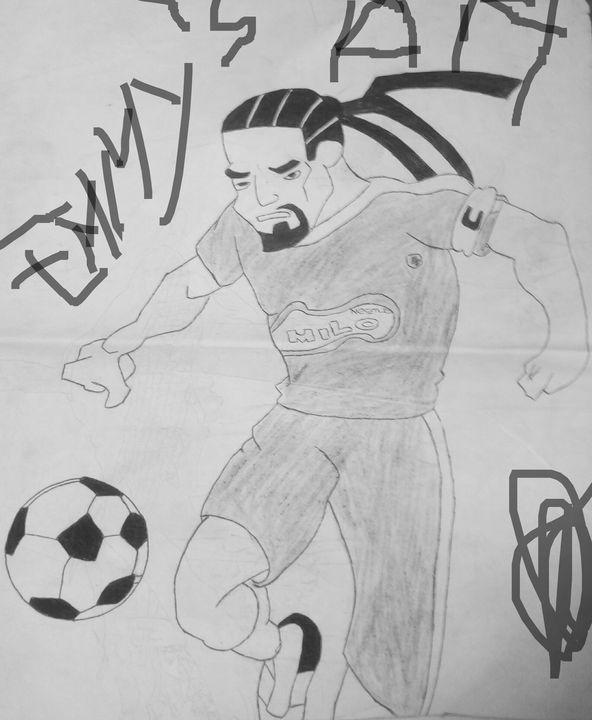 Soccer - Emmanuel's Art
