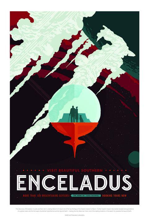 Enceladus - Prints Diary