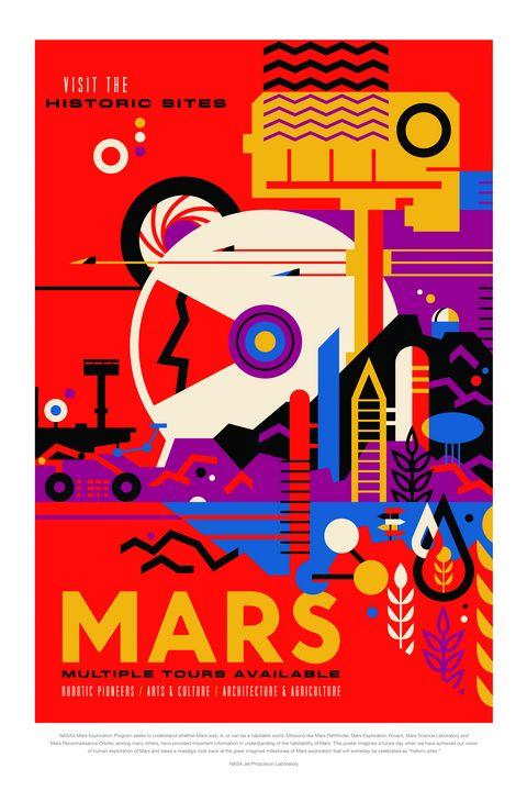 Mars - Prints Diary