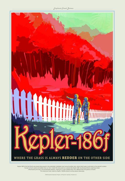 Kepler-186f - Prints Diary
