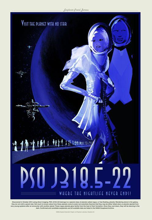 PSO J318.5-22 - Prints Diary