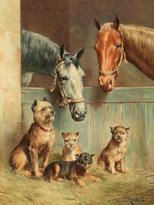 Animal Friendship - Prints Diary