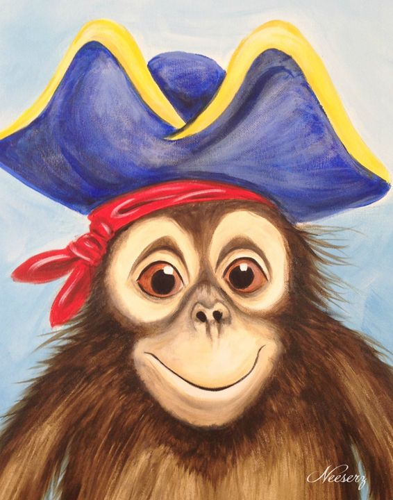 Monkey Pirate - Neeserz Studio