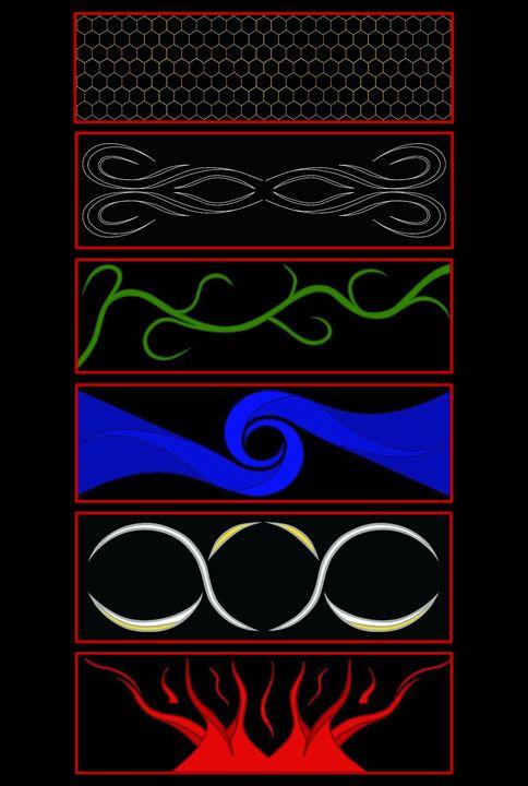Six Elements Hexagram - Six Elements