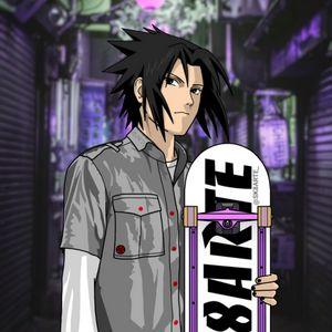 Sasuke Uchiha Skater