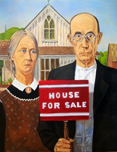 NEW AMERICAN GOTHIC. CRISIS WHAT CRI