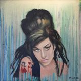 Amy Winehouse, Oil on Canvas