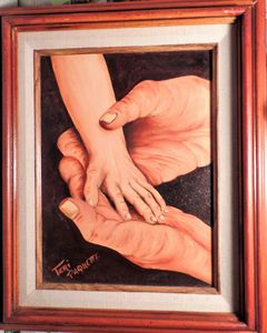 FATHER AND SONS HANDS