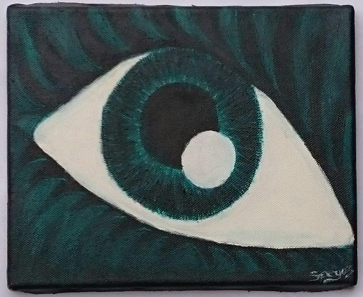 Green eye - Spegart