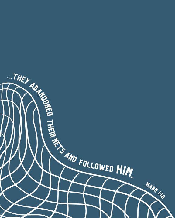 Follow Him - M Gettinger Designs