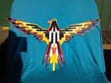 10x19 craftstick indian eagle.