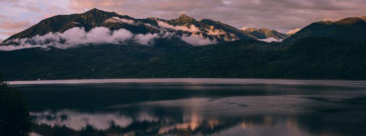 Idaho Peak and Selkirk Peak - Sarah M. Wells