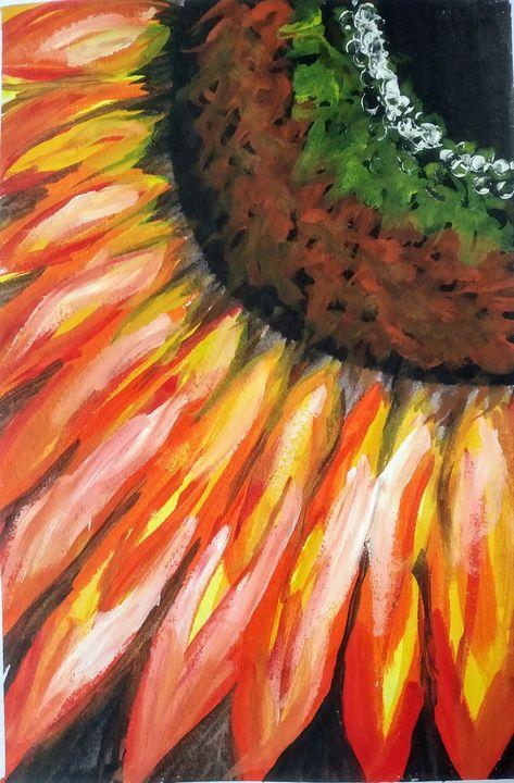 Sunflower - Alexandra art
