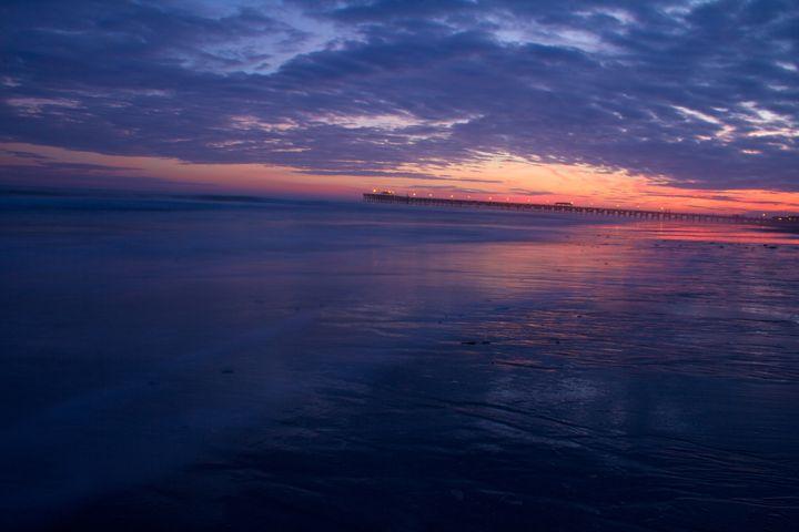 Sunset Beach - Liquatic Photography