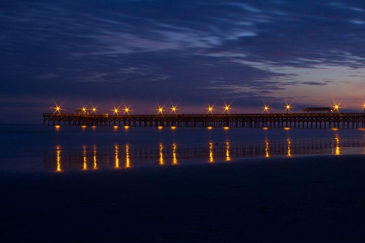 Springmaid Pier - Liquatic Photography
