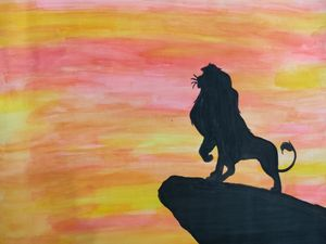 Lion Silhoutte