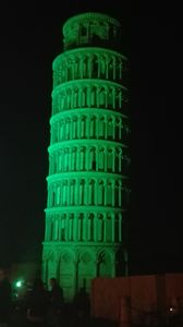 St. Patrick's Day at Pisa