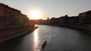 Fiume Arno in Ponte di Mezzo