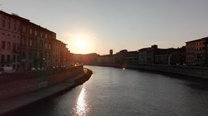 Sunset from Ponte di Mezzo
