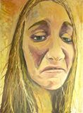 22.5X30 Portrait of a Woman