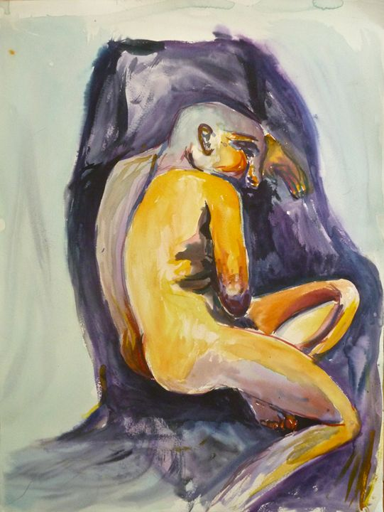 Figure of a Man - Amanda Claire Geller
