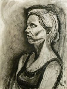 Portrait in Charcoal #1