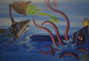Sharks with Frickin' Laser Beams