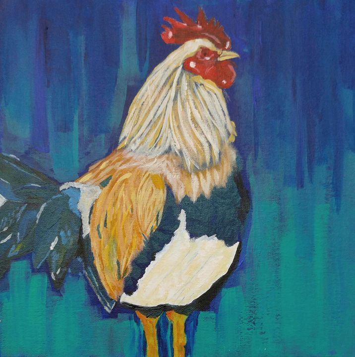 Rooster - Mischaela_Art