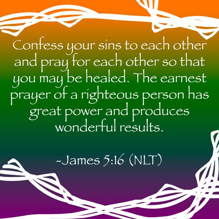 James 5:16 - Regina Bell