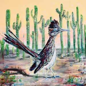 Roadrunner of Arizona Southwest Bird - Donoghue Wall Art