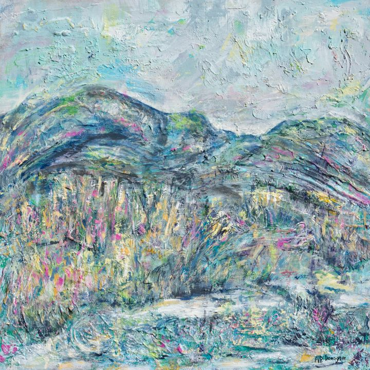 High Country - Abstract-Landscape - Donoghue Design- Wall Art