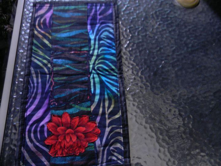 The wild rose - FabricArt