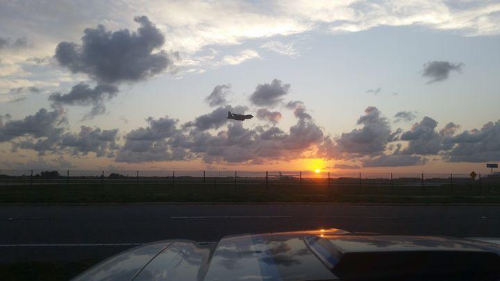 Sunset Flying - JetPilot