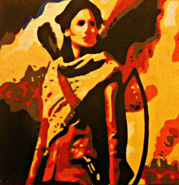 Katniss - Matthew Colebourn