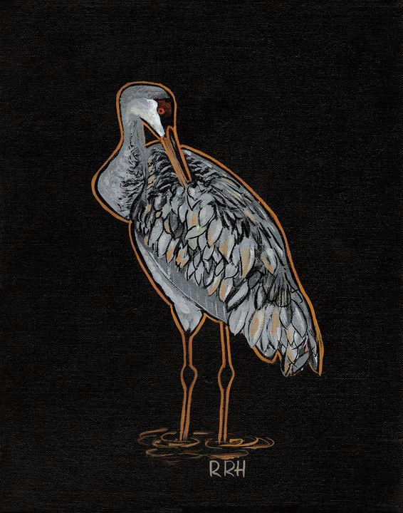 Unruly Feathers - R.R.H. Artwork