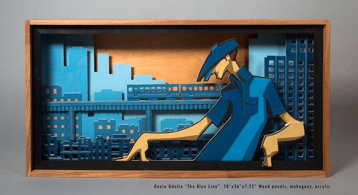 The Blue Line - Donie Odulio