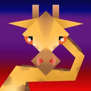 Geometrical giraffe