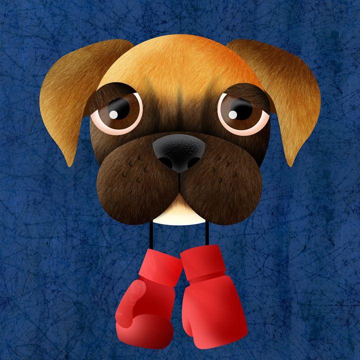 Boxer - Sloe Illustration
