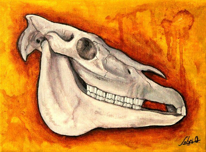 Dead horse - Sloe Illustration