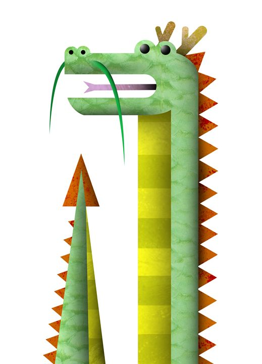 Dragon - Sloe Illustration