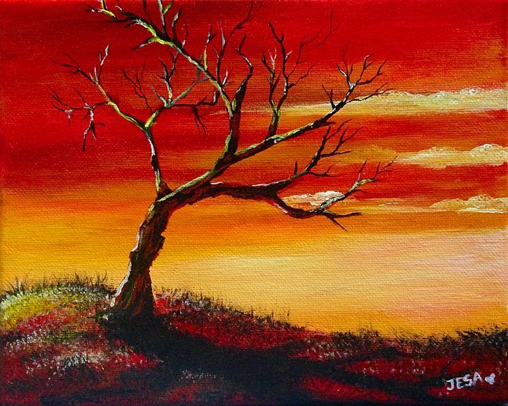 Dry Tree - JesaFineArt