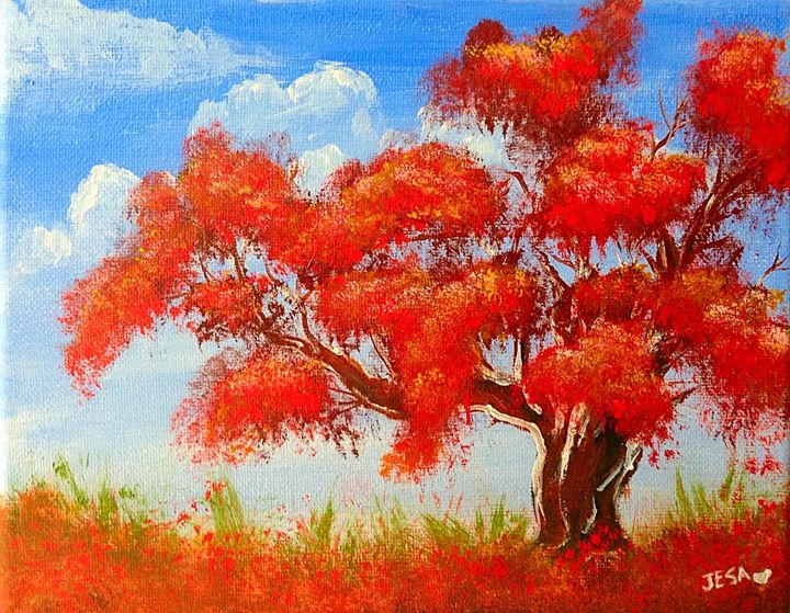 Fall tree - JesaFineArt