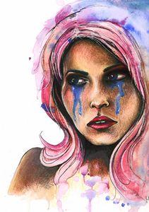 "Watercolor ""Katja"""
