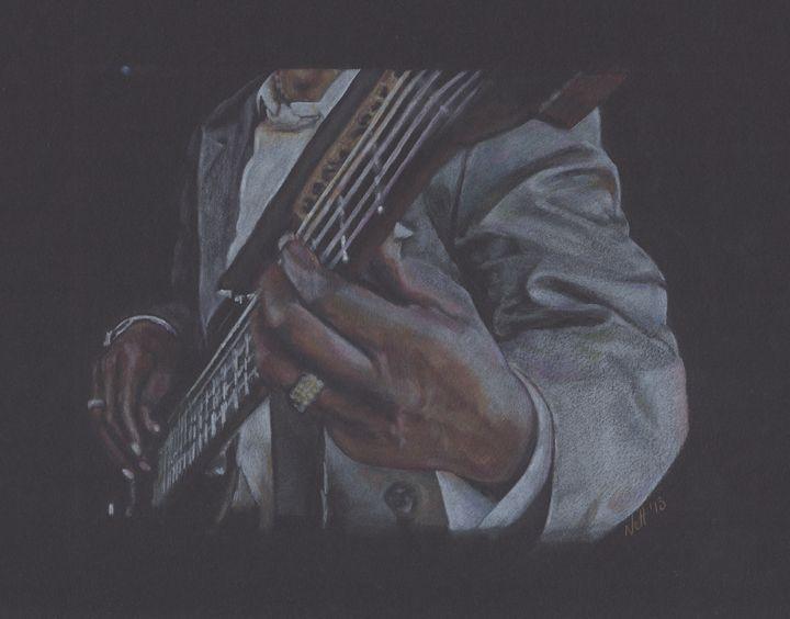 Guitarist at Work! - Ryman-Art