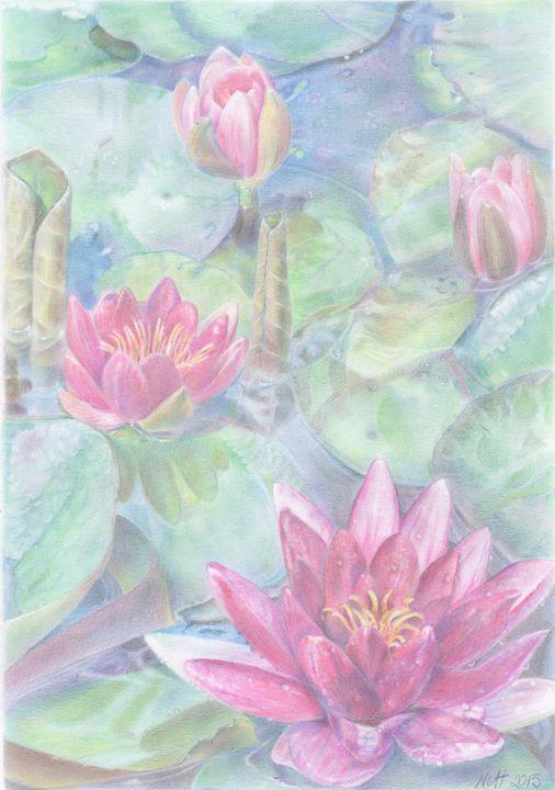 Water Lilies - Ryman-Art