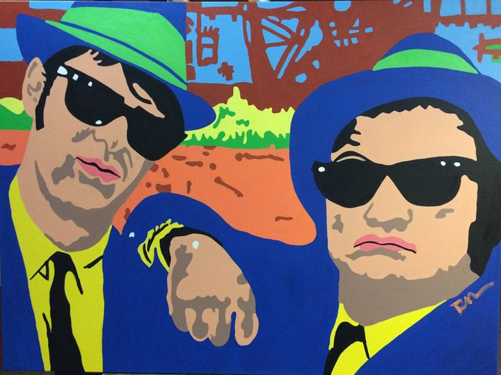 The Blues Brothers - DC Fine Arts