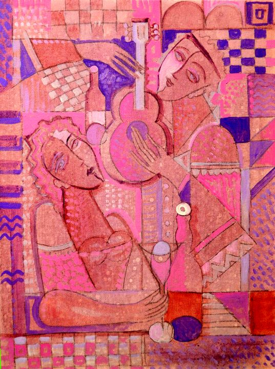Evening Song - Original art by  Van Hovak