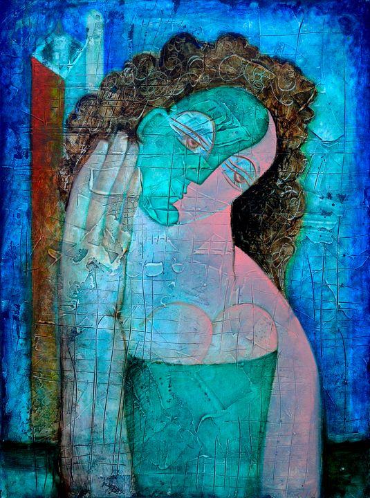Emotions - Original art by  Van Hovak
